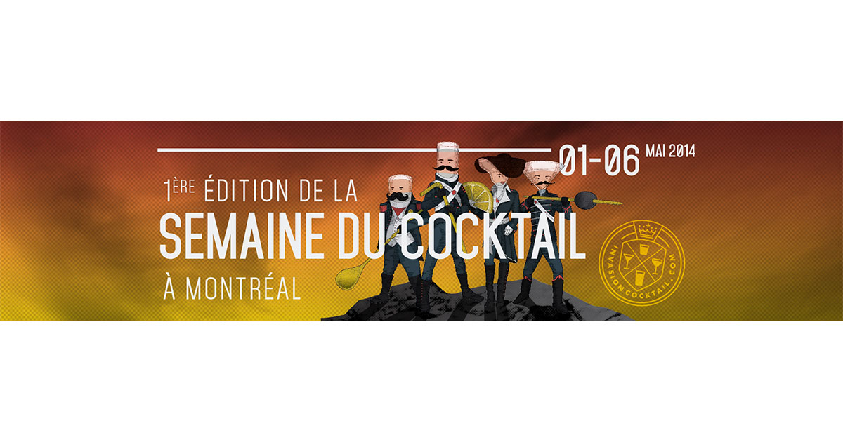 Invasion Cocktail 2014 - couverture