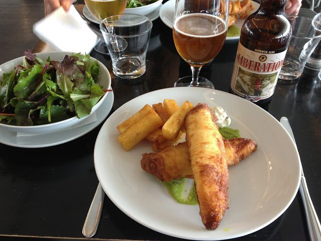 Fish n' Chips at London's Tate Modern - The Fish n' Chips