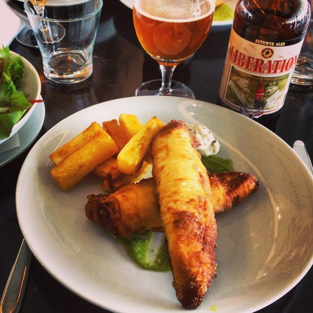 Fish n' Chips at London's Tate Modern