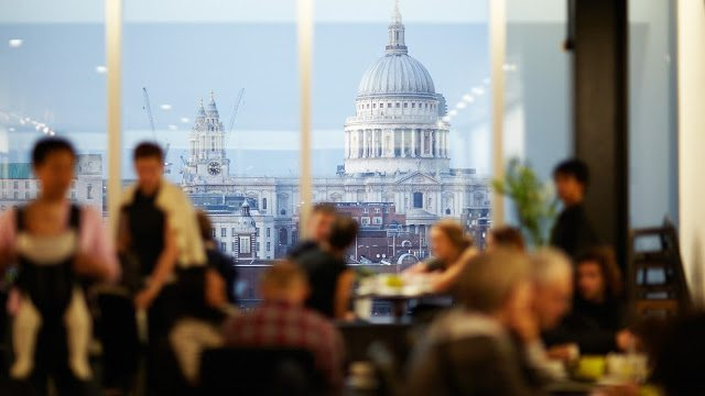 Fish n' Chips at London's Tate Modern - The View
