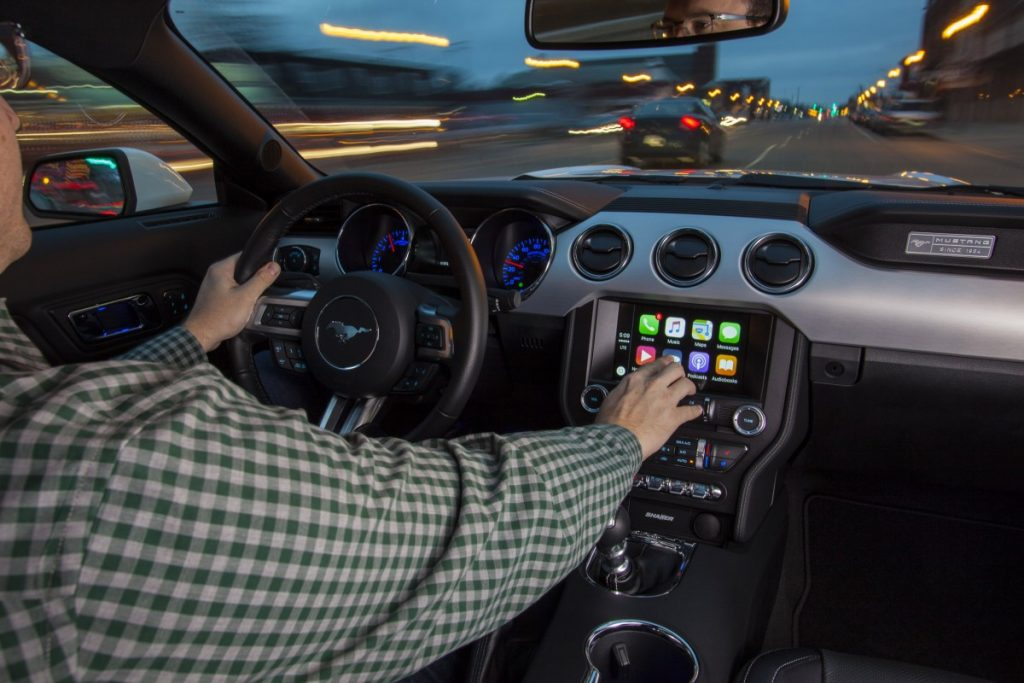Apple CarPlay Photo: Ford Canada