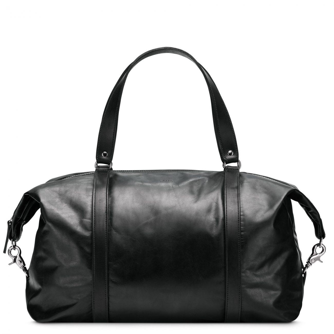 1 des 10 sacs weekend parfaits: Sac Globetrotteur moyen en cuir Aniline de M0851 - 2