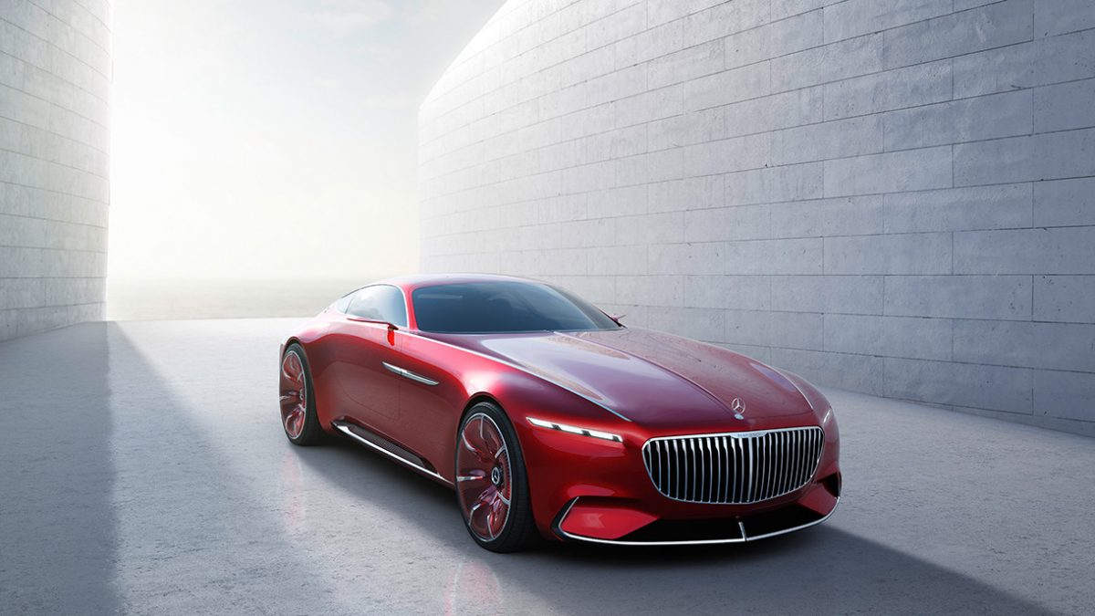 Le luxe ultime: La Vision Mercedes-Maybach 6