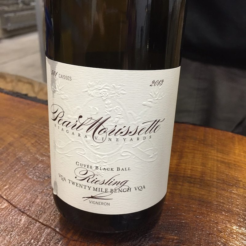 Domaine Pearl Morissette - 2013 Riesling Cuvée Black Ball