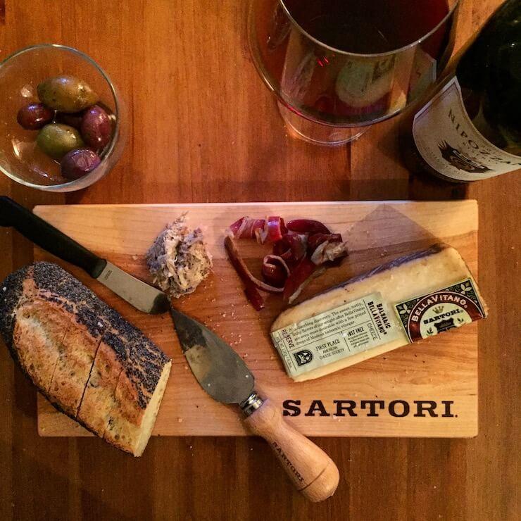 Sartori, le petit fromage italien venu du Wisconsin
