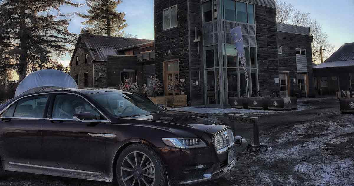 Getaway at Domaine Neige with the 2017 Lincoln Continental