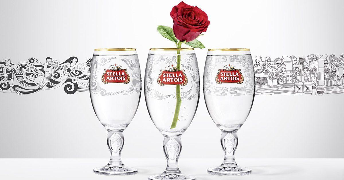 Payez un Verre à Une Dame de Stella Artois - Couverture