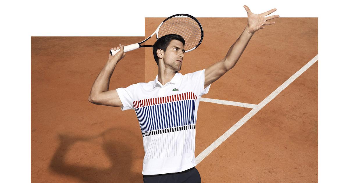 Djokovic Lacoste - cover