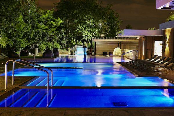 Bota Bota spa - Jardins soir 1