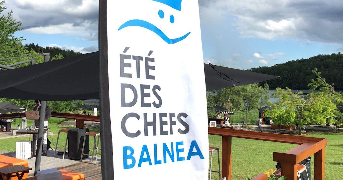 Une 8e année pour L'Été des Chefs au Balnéa