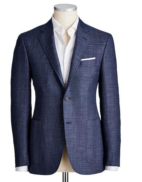essentiels mode pour gentlemen - Veston Canali, Modèle Kei - Harry Rosen