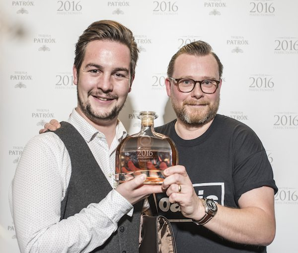 Patrón Perfectionists au Québec - Mike McGinty, gagnant 2016