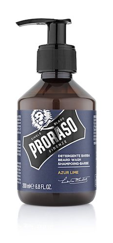 New Azur Lime Collection by PRORASO : The Beard Shampoo