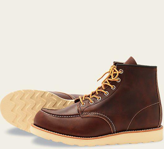 9 bottes d'automne pour hommes à avoir maintenant: Red Wings Classic Moc Style 8138