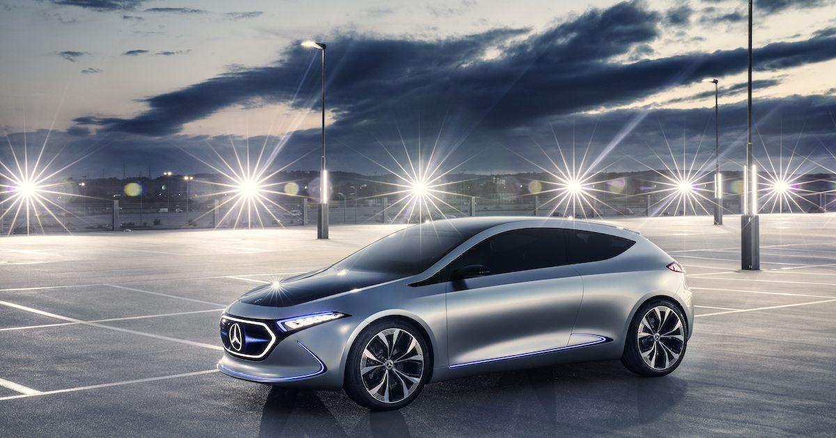 Concept EQA : Nouveau véhicule concept de Mercedes-Benz