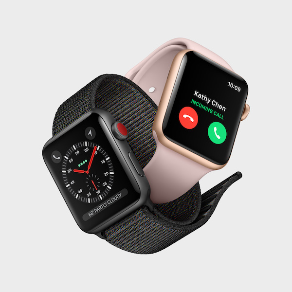 nouveautés Apple 2017 - Apple Watch Series 3