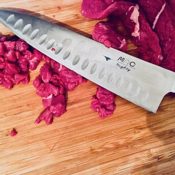 Tartare de Boeuf Couteau - Beef tartare Knife