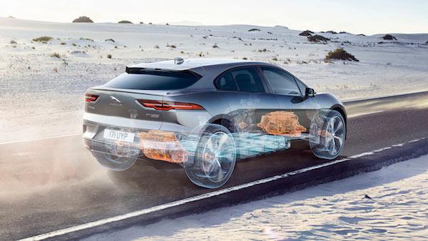 Jaguar I-PACE Concept - Engine