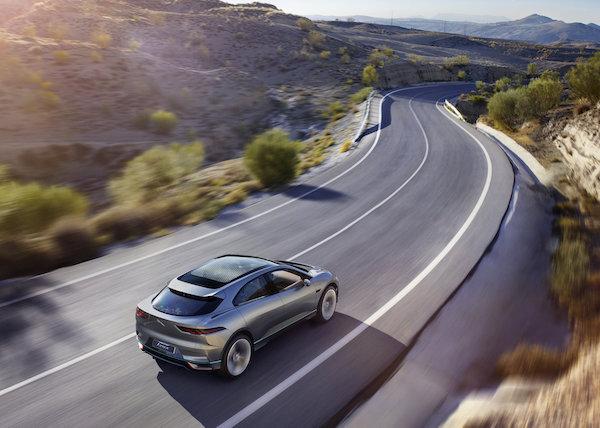 Jaguar I-Pace Route