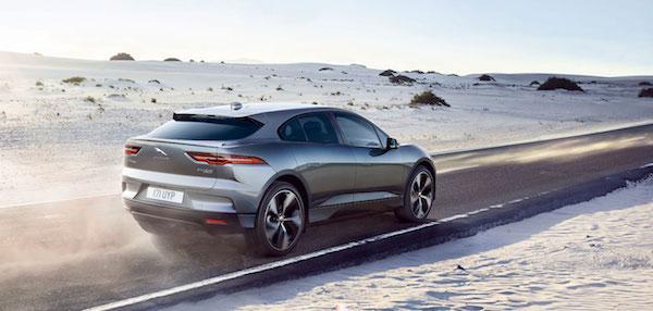 Jaguar I-PACE Concept - Sand