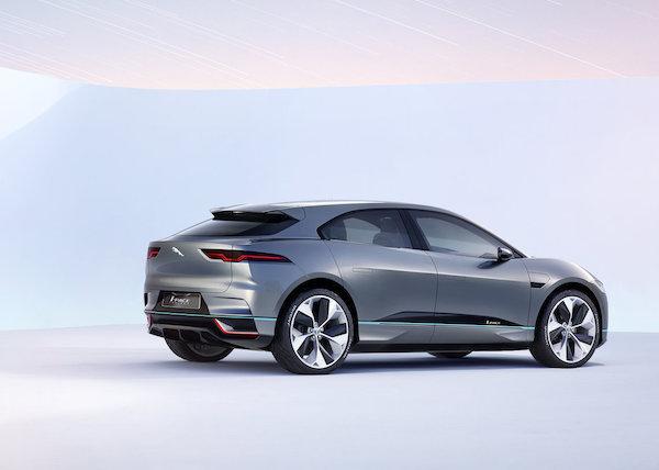 Jaguar I-PACE Concept -rear