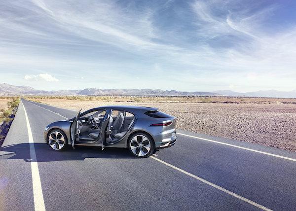 Jaguar I-PACE Concept - road