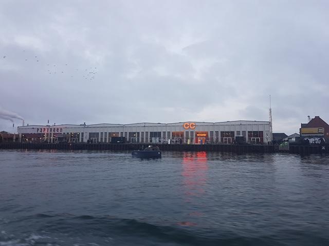 Paper Island vue du bateau