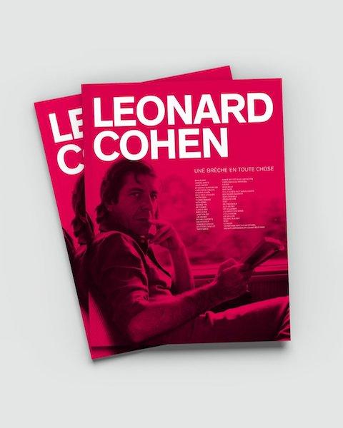 Couverture livre Leonard Cohen