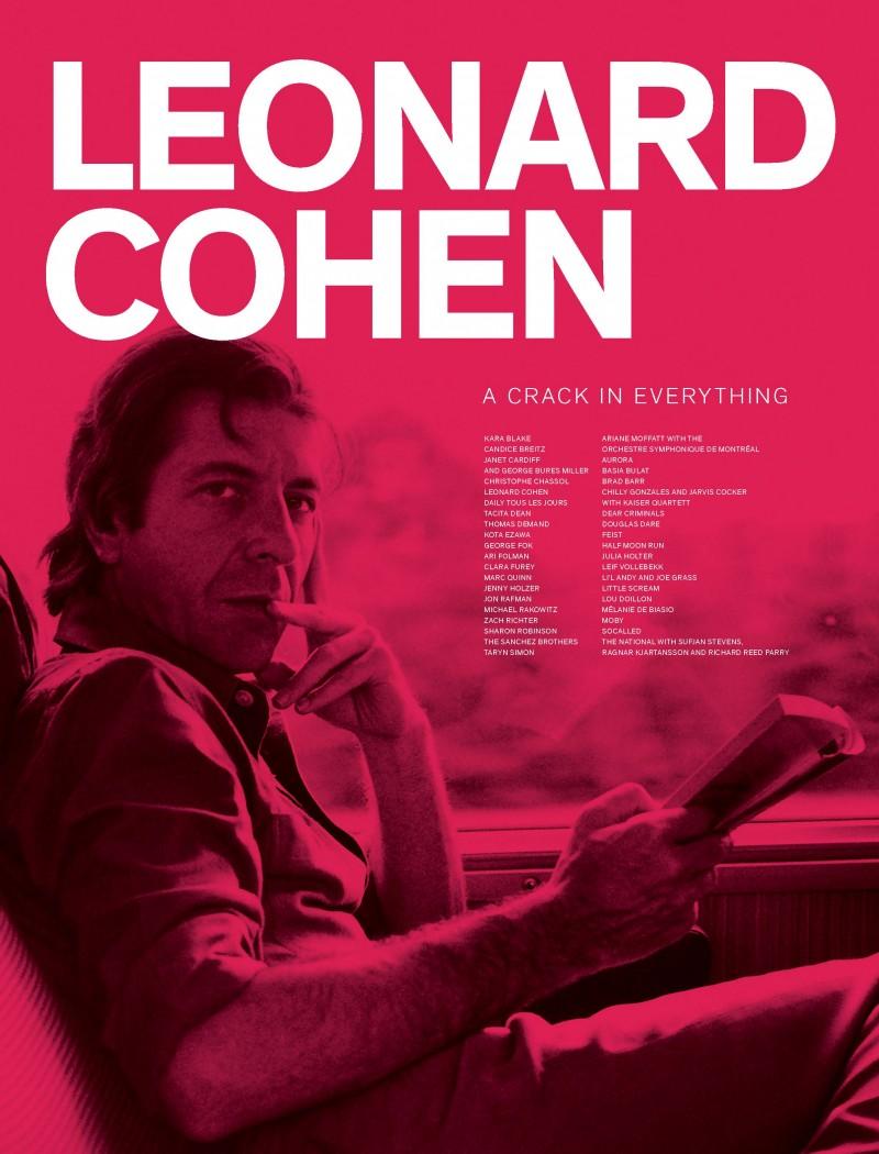 Leonard Cohen exhibit book cover