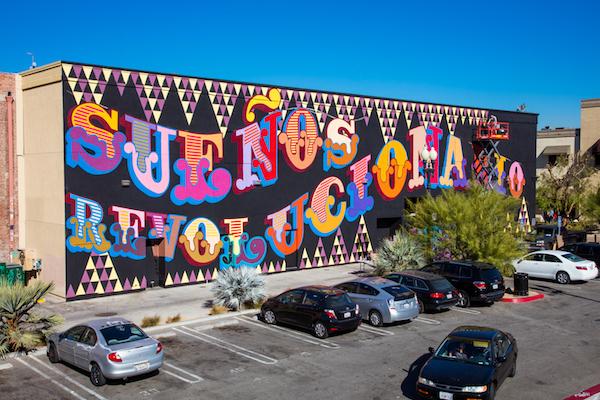 Festival Mural 2018 - Ben Eine