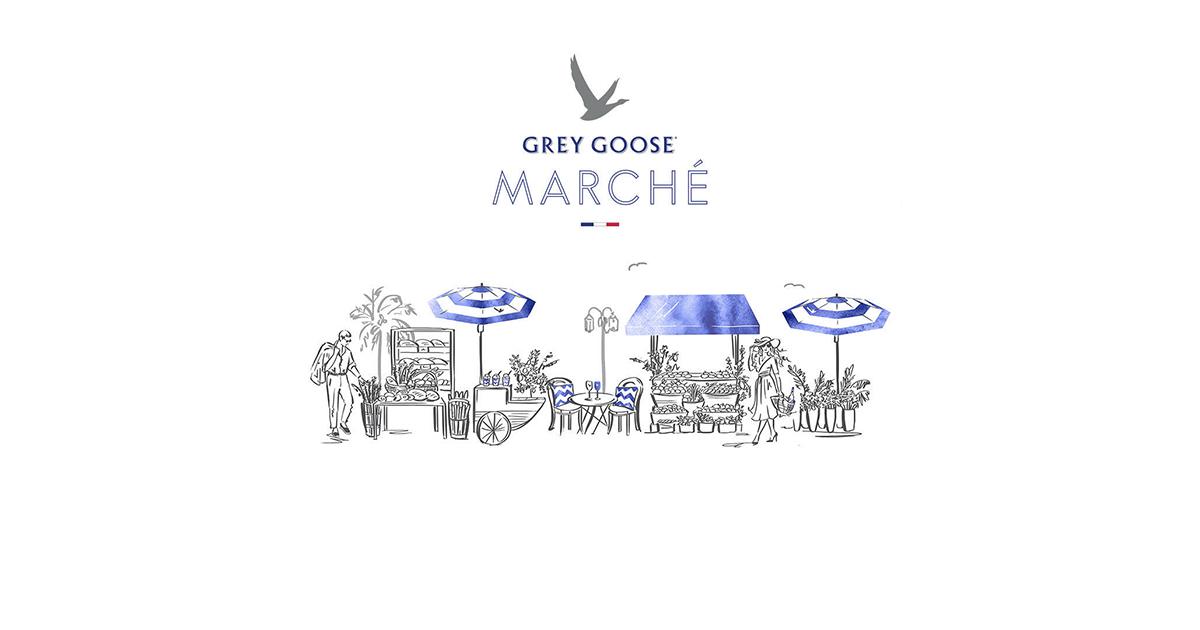 Grey Goose Marché - vodka Grey Goose