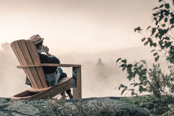 Beau Lake - Chaise