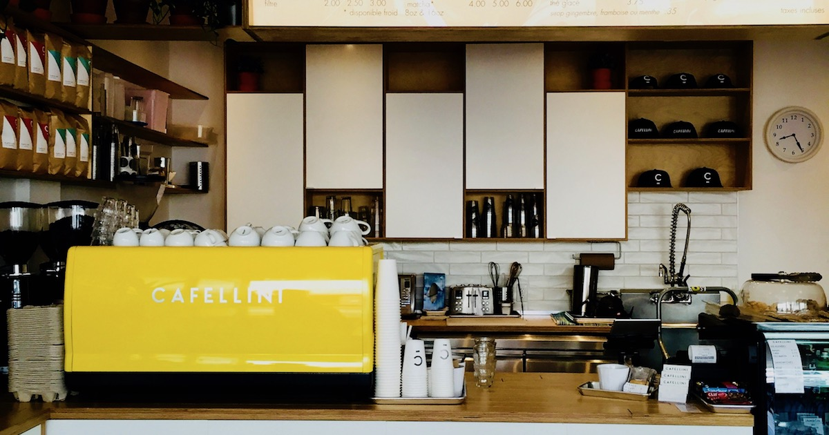 Cafellini Coffee Shop - Cover