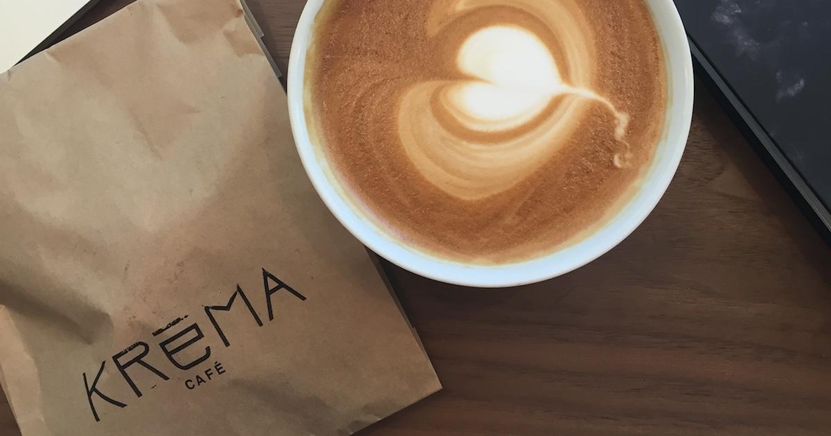Kréma café - Couverture