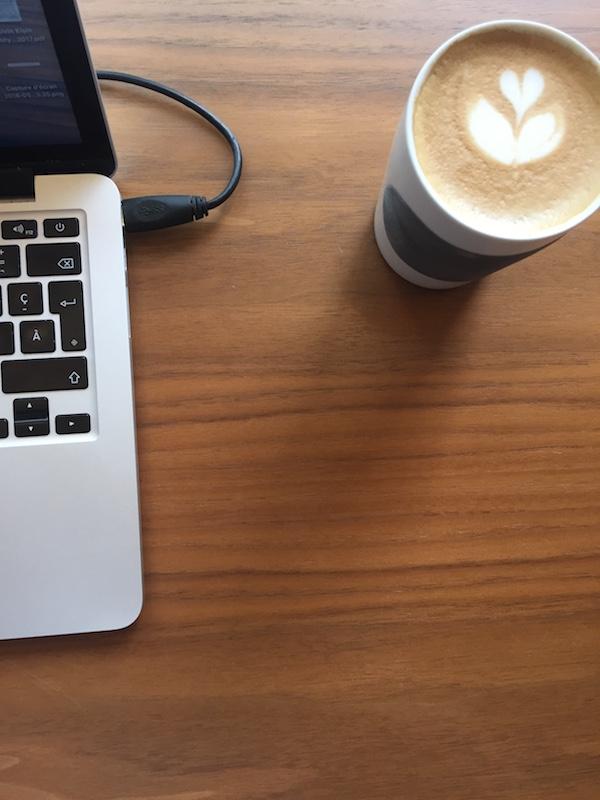 Kréma café - Fleur
