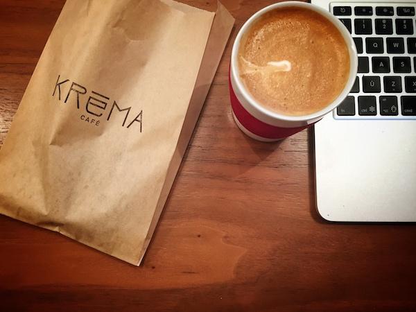 Kréma café - Ordinateur