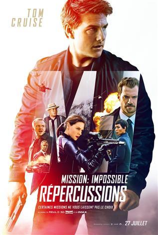 Mission: Impossible - Répercussions - Affiche