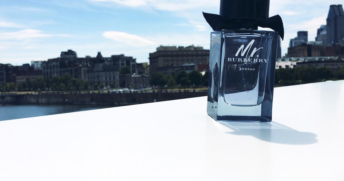 Mr. Burberry Indigo for Men - Bottle - Old Port of Montreal-web