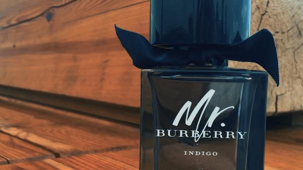Mr. Burberry indigo - Bouteille Bois