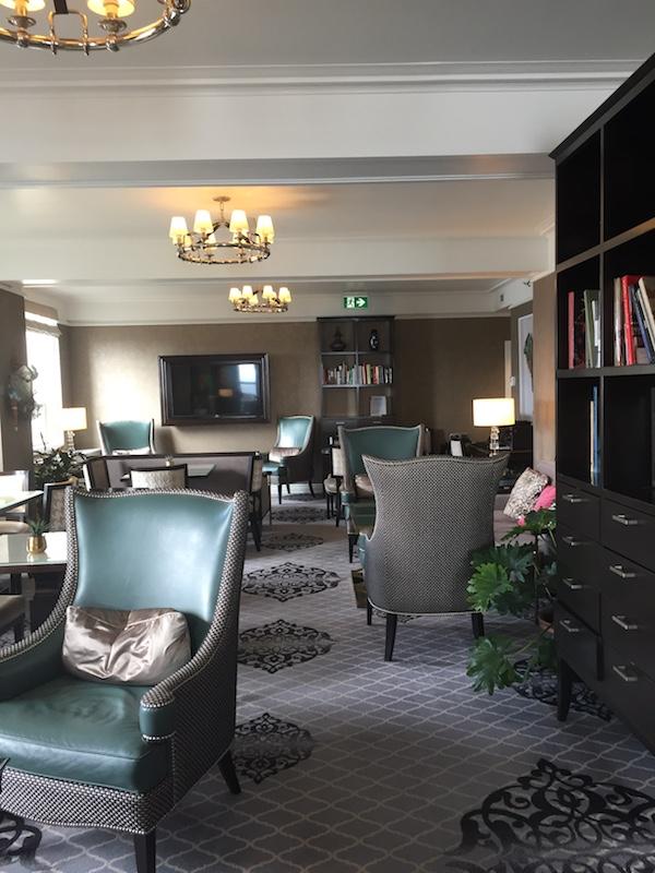 Quebec City - Fairmont Le Château Frontenac - Fairmont Gold Lounge 2