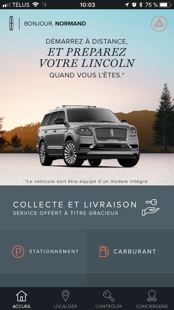Quebec City - Lincoln Navigator - Engine Start