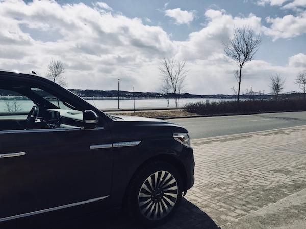 Quebec City - Lincoln Navigator Pont de Québec