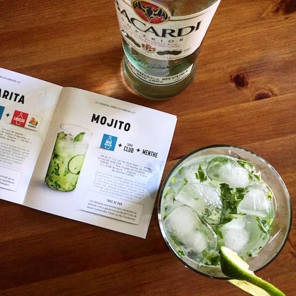 The Bacardi Mojito - Cocktail
