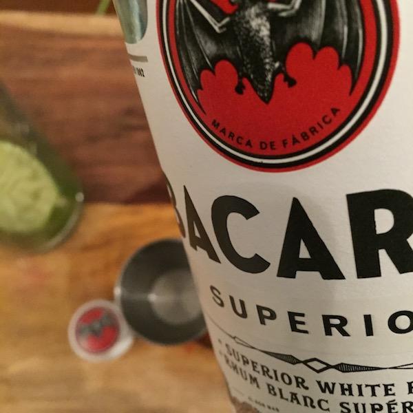 The Bacardi Mojito - Rum