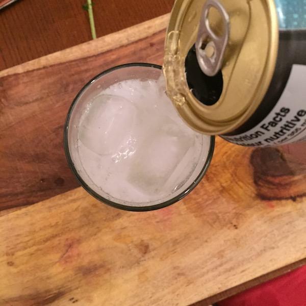 The Bacardi Mojito - Soda