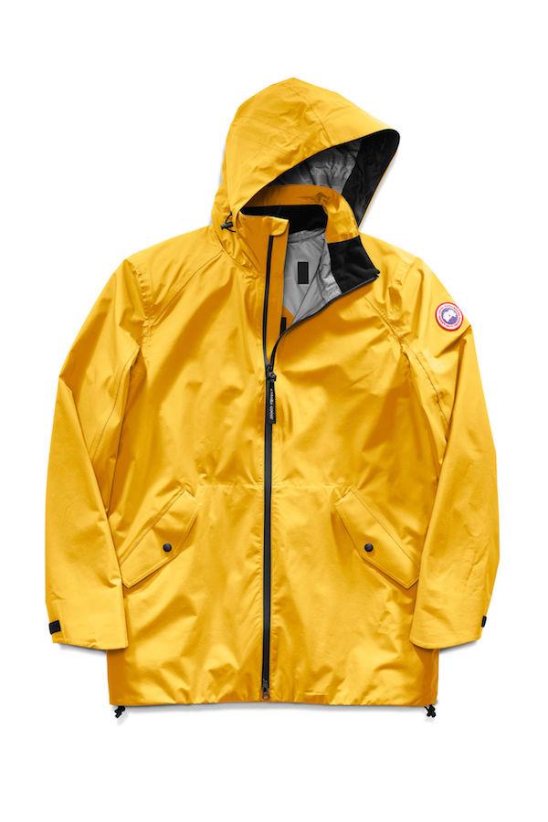 10 imperméables pour être élégant sous la pluie - Canada Goose- Manteau Riverhead