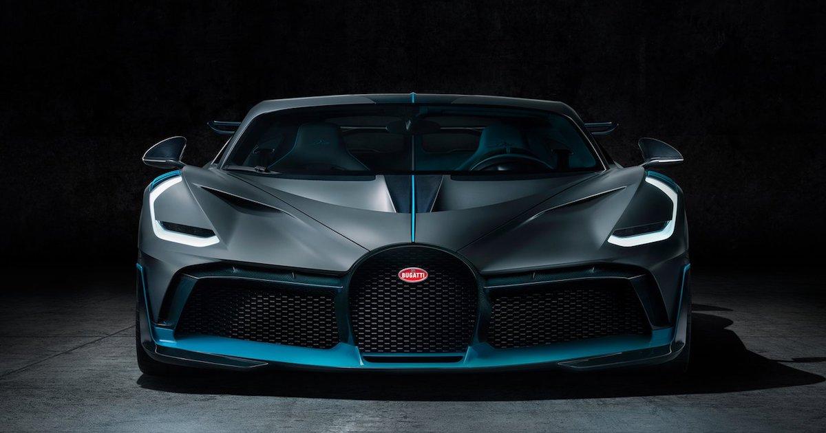Bugatti Divo - Couverture