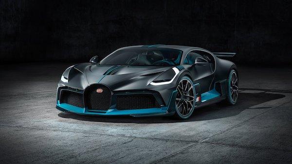 Bugatti Divo - devant