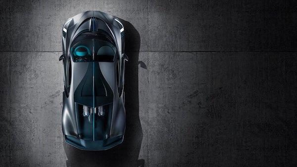 Bugatti Divo -haut