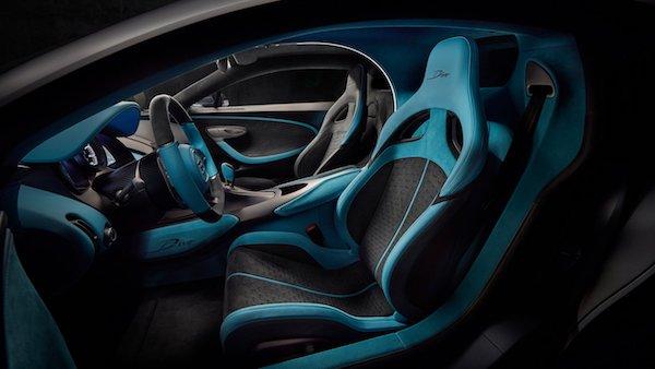 Bugatti Divo -intérieur